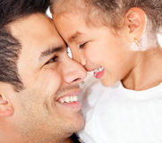 Daddy's girl Stock Photos