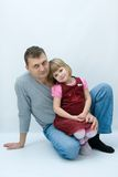 Daddy's girl Royalty Free Stock Photography