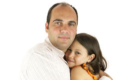 Daddy's little girl Royalty Free Stock Photography