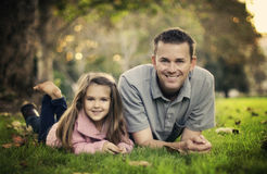 Daddy Time Royalty Free Stock Photography