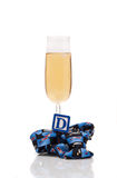 Daddys Celebration. Folded Neck Tie with Letter D ( Father's Day Stock Image