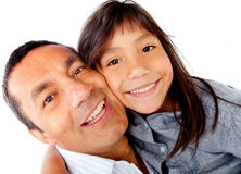 Daddys girl Royalty Free Stock Photography