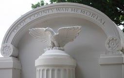 Dade okręgu administracyjnego wojenny pomnik w Bayfront parku Obrazy Stock