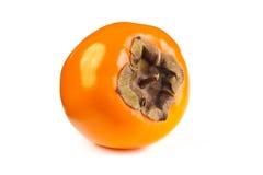 Dadelpruimfruit op witte achtergrond Royalty-vrije Stock Fotografie