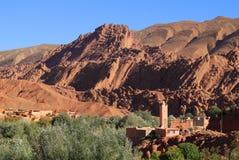 Dades dal, Marocko arkivbild