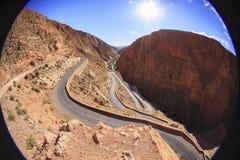 Dades doliny droga zdjęcie royalty free