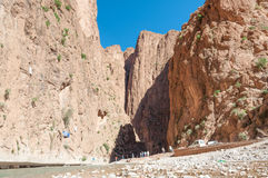 Dades Gorge in the Atlas Mountains Stock Photo