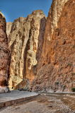 Dades Gorge (Valley) in Morocco stock photography