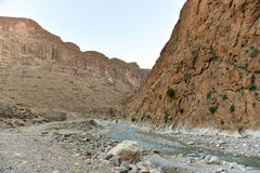 Dades Gorge valley. Dades Gorge (Valley) in Morocco, Africa Stock Photography