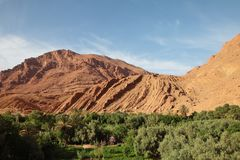 Dades-Tal, Marokko stockbilder
