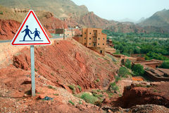 Dades Valley Royalty Free Stock Images