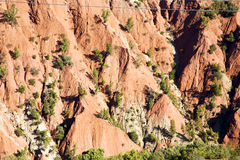 The    dades valley in atlas abstract  and nobody Royalty Free Stock Photos
