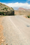 Dades Valley, Morocco. A road in the Dades valley in Morocco Royalty Free Stock Images