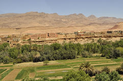 Dades valley,Morocco stock image