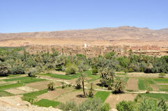 Dades valley,Morocco royalty free stock image