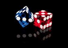Dadi del gioco delle schifezze di Las Vegas Fotografia Stock