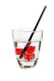 Dadi della bevanda fredda Fotografia Stock