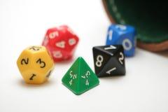 Dadi di RPG Fotografie Stock