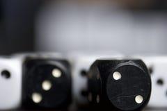 Dadi Gioco dei cubi Fotografia Stock Libera da Diritti