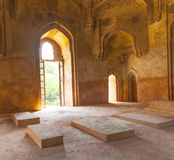 Dadi potis坟茔在Lodi庭院里 免版税库存图片