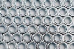 Dadi in un modello organizzato di matrice Fotografie Stock
