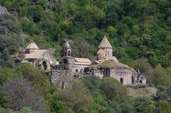 Dadivank是纳戈尔诺Karaba的亚美尼亚中世纪修道院 库存图片