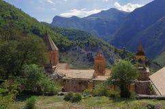 Dadivank是纳戈尔诺Karaba的亚美尼亚中世纪修道院 库存照片