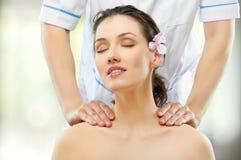 Dado masajes Foto de archivo libre de regalías