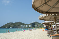 Dadong hai beach, Sanya Royalty Free Stock Photos