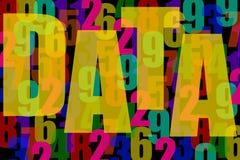 Dados Fotografia de Stock