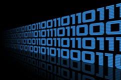 Dados azuis Imagens de Stock