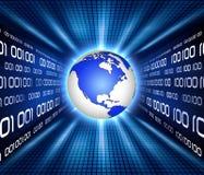 Dados binários Imagem de Stock