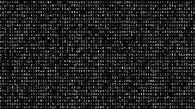 Dados cifrados de corrida vídeos de arquivo