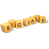 Dados com venda grande Imagem de Stock