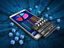 dados comerciais 3d Imagem de Stock Royalty Free
