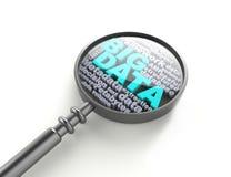Dados-conceito grande das palavras cruzadas Imagem de Stock
