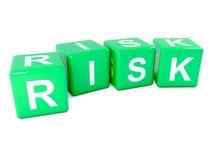 dados del riesgo del verde 3d stock de ilustración