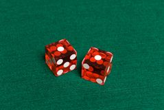 Dados do casino Foto de Stock Royalty Free