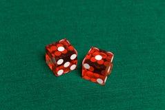 Dados do casino foto de stock royalty free