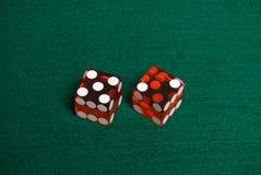 Dados do casino Imagem de Stock
