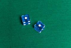 Dados do casino Foto de Stock