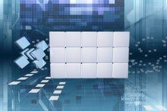 Dados do Cyberspace Imagem de Stock Royalty Free