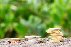 Dados en las finanzas I Foto de archivo libre de regalías