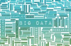 Dados grandes ilustração royalty free