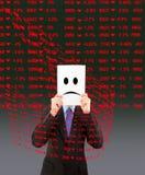 Dados negativos Fotografia de Stock