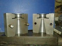 Dados para el bastidor de aluminio de la gravedad Foto de archivo