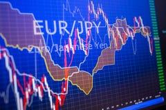 Dados que analisam no mercado dos estrangeiros: as cartas e as citações na exposição Imagem de Stock