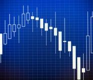 Dados que analisam no mercado dos estrangeiros: as cartas e as citações na exposição Fotos de Stock Royalty Free