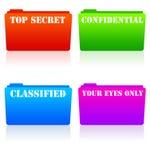 Dados secretos Fotografia de Stock Royalty Free