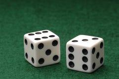 Dados voor Spel Stock Fotografie